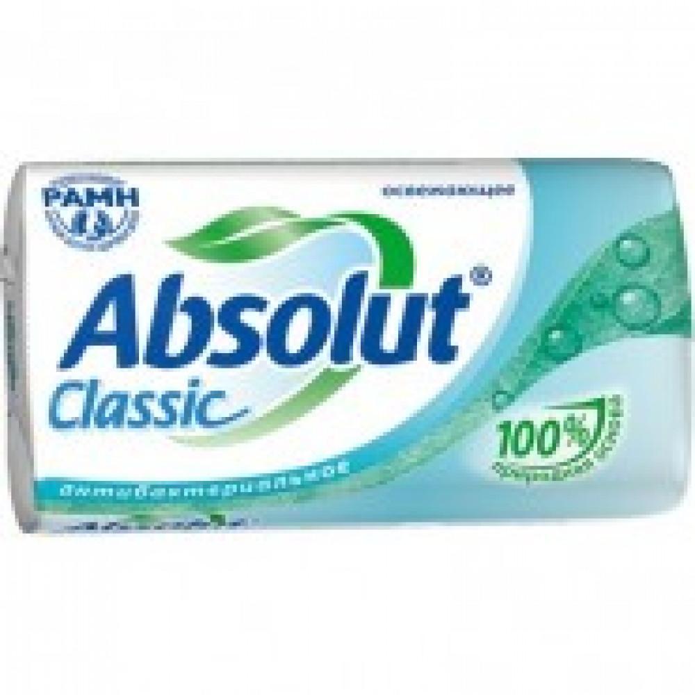 Мыло туалетное 90г ABSOLUT CLASSIC Антибактериальное в ассортименте