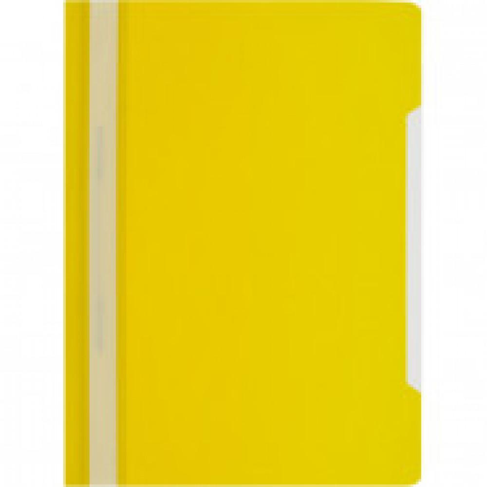 Папка-скоросшиватель A4 Attache Economy 100/120, желтый, 10шт/уп