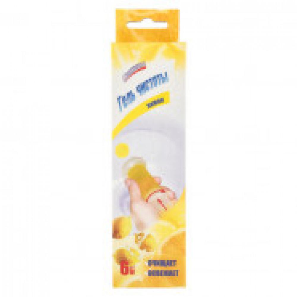 Средство для сантехники Освежитель унитаза Свежинка лимон 37 г