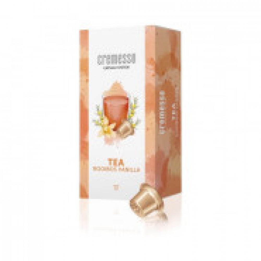 Капсулы для кофемашин Cremesso RooibosVanillaчай 16 порций