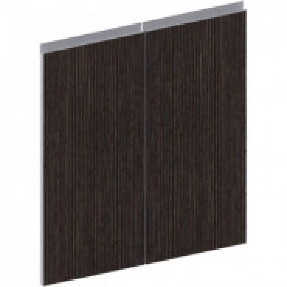 Мебель ED_Vita Двери дер.низкие 2шт V-4.0, т. сосна лоредо