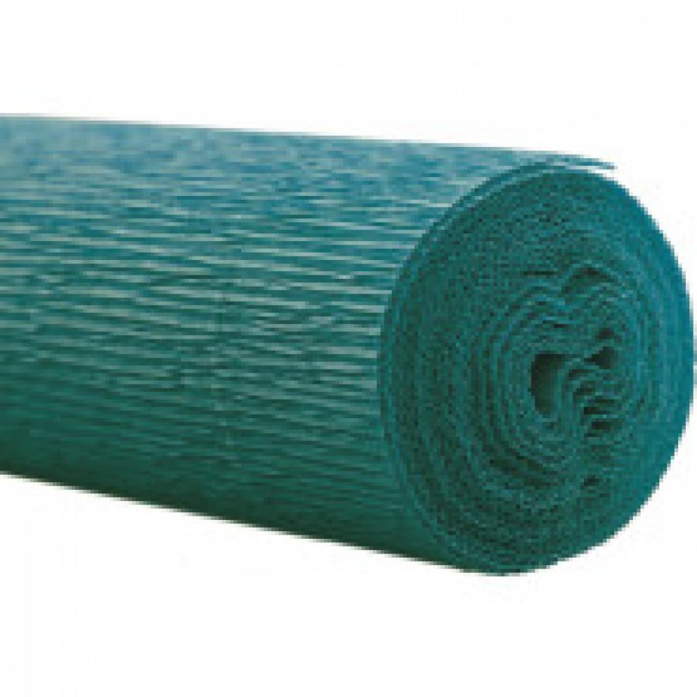 Бумага для творчества крепированная флорист. 50x250см,128г/м2,синяя,170524