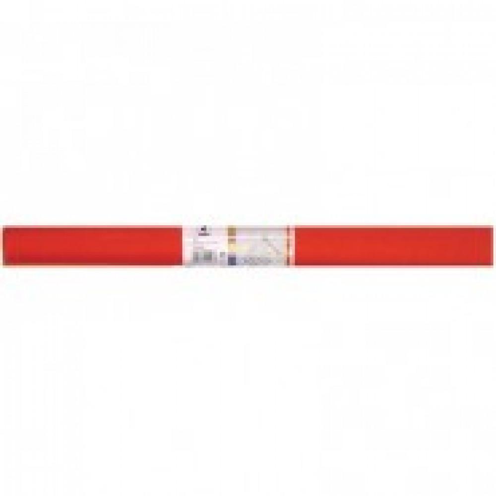 Бумага для творчества креповая WEROLA, 50см*250см 32г/м оранж.,12061-109