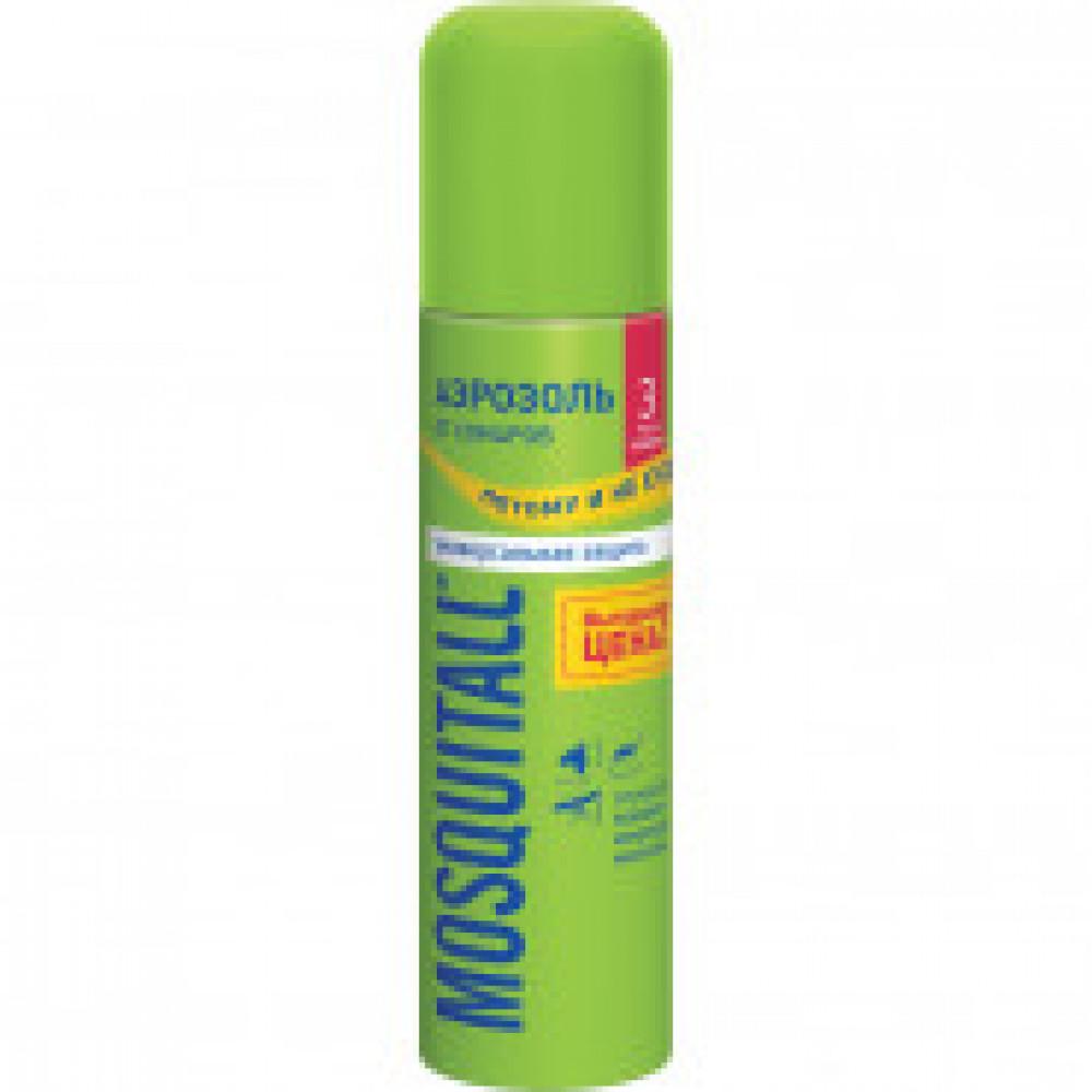 Средства от насекомых Аэрозоль от комаров MOSQUITALL Универс.защита 150 мл