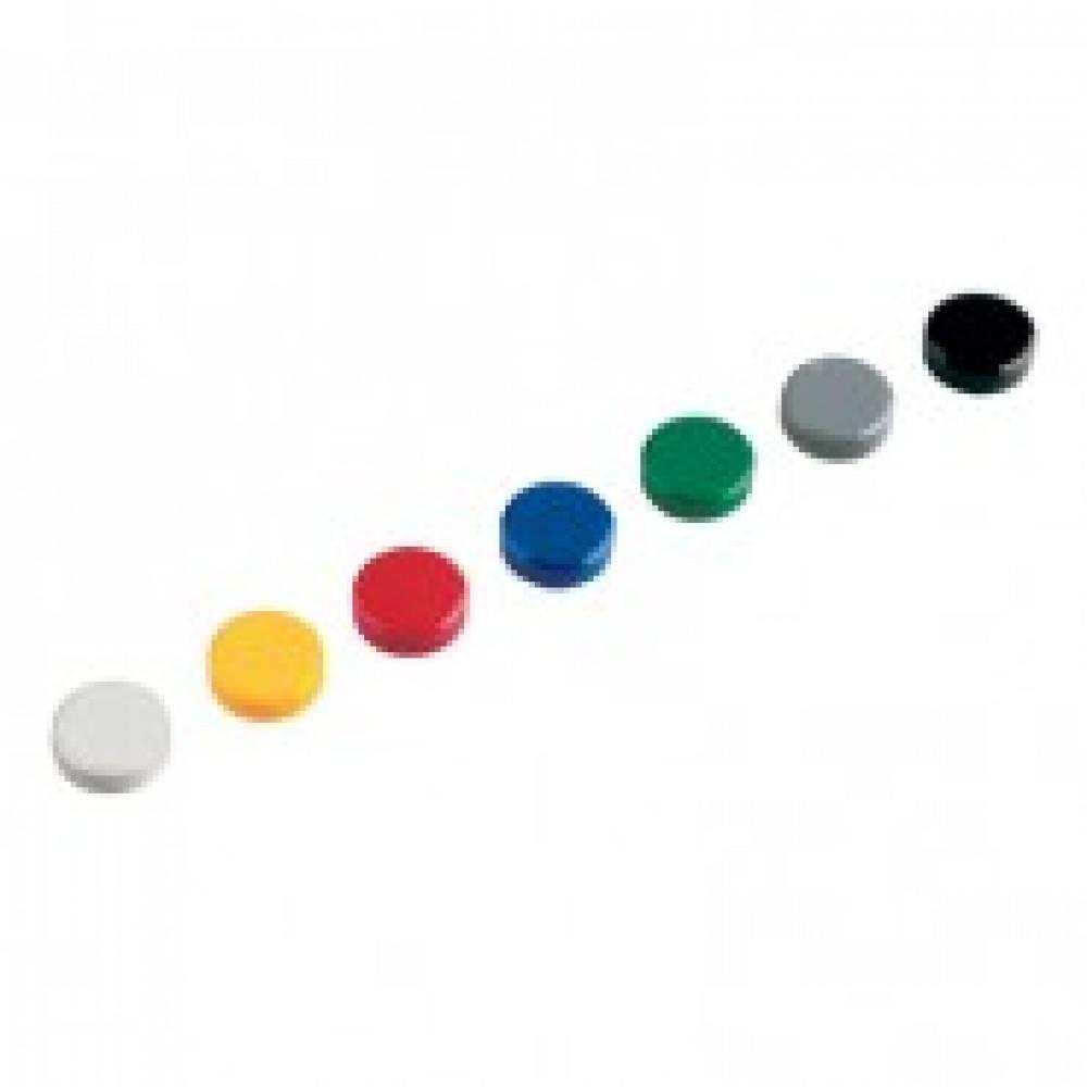 Магнитный держатель для досок Maul Hebel диаметр 20 мм (20 штук в упаковке)