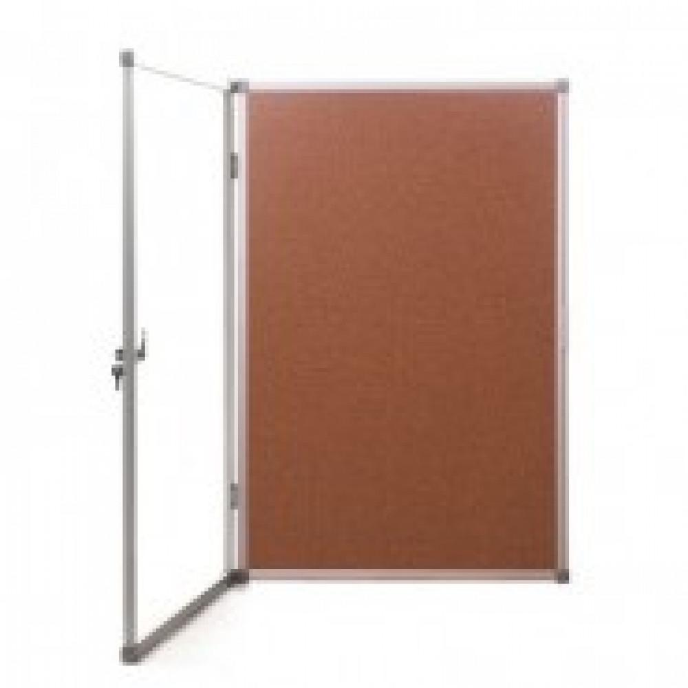 Витрина Доска-витрина пробковая 90х120 см (алюминиевая рама)