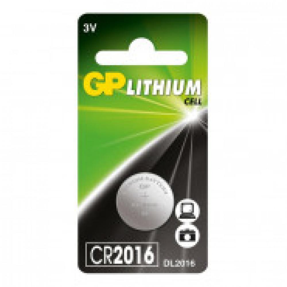 Батарейка GP таблетка CR2016