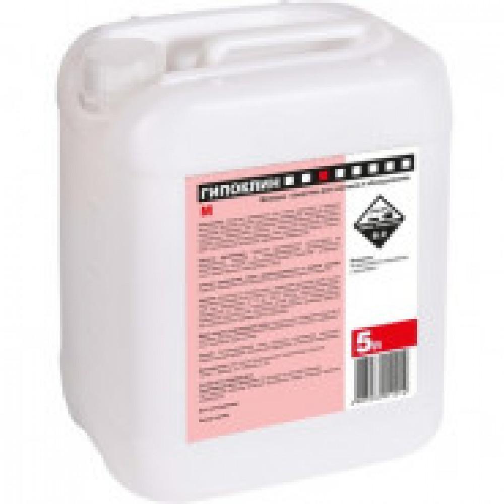 Моющее средство для текстиля и оборудования Гипоклин М 5 л (концентрат)