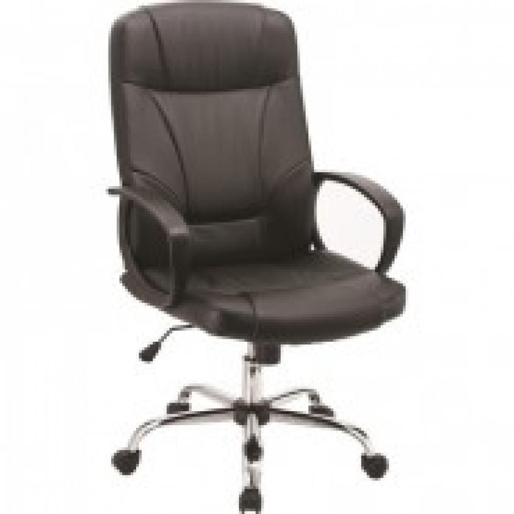 Кресло BN_Dt_EChair-551 TPU козжам черный, хром
