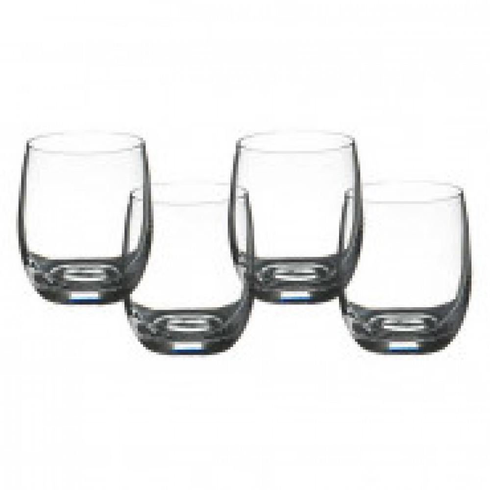 Набор стаканов для виски из 4шт Бар 300 мл арт.674-276