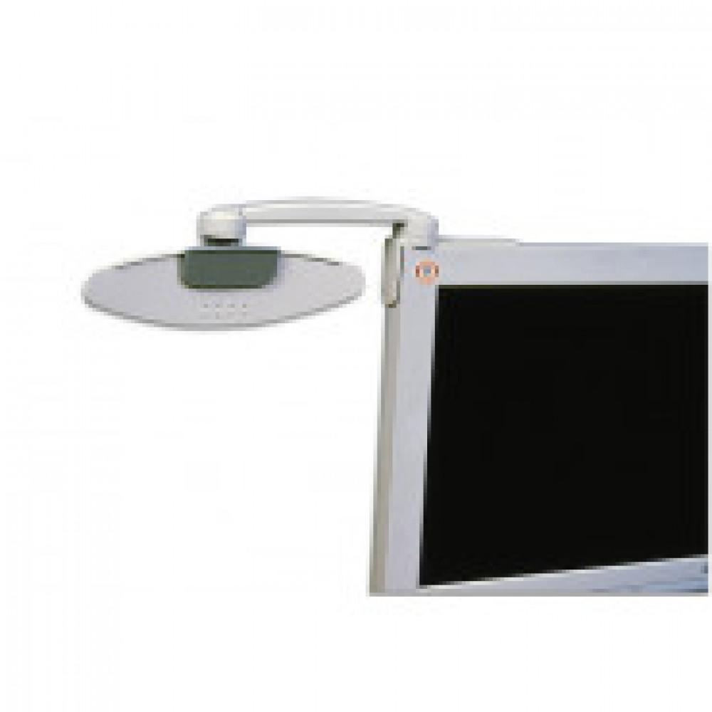 Держатель для бумаг ProfiOffice НD-3S серый (крепление к монитору)