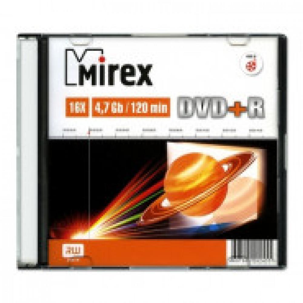 Диск DVD+R Mirex 4,7 GB 16x
