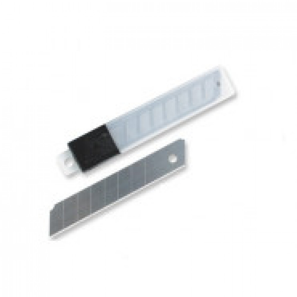 Лезвие запасное для ножей Attache 18мм 10шт./уп.пластиковый футляр