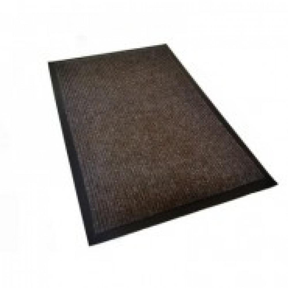 Ковер входной влаговпитывающий КОМФОРТ 400х600мм коричневый