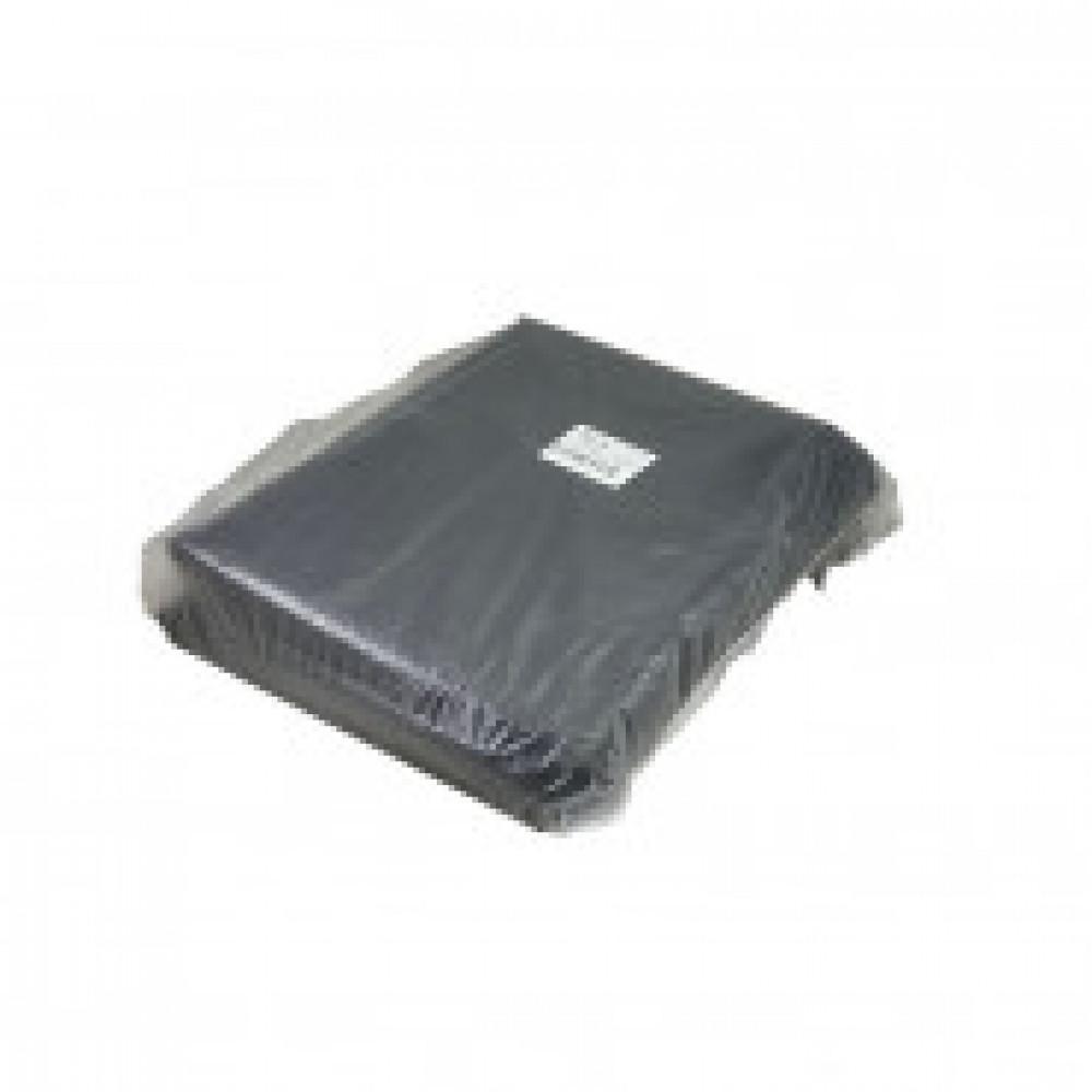 Мешки для мусора на 120 литров черные (35 мкм, в упаковке 50 штук, 70х110 см)