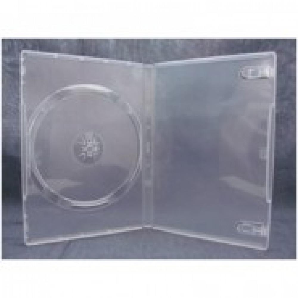 Бокс для CD/DVD дисков VS DVD-box/5шт 14мм прозрачный