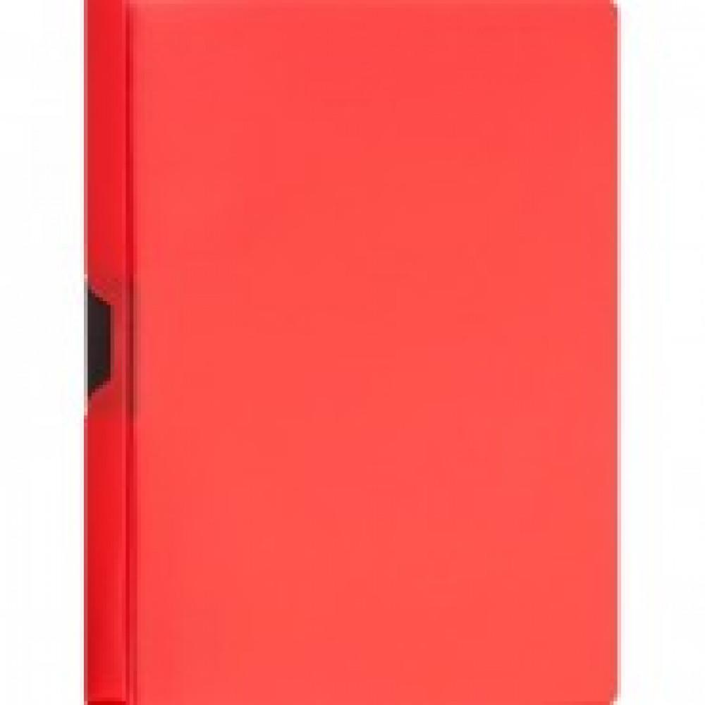 Папка с клипом Attache красная