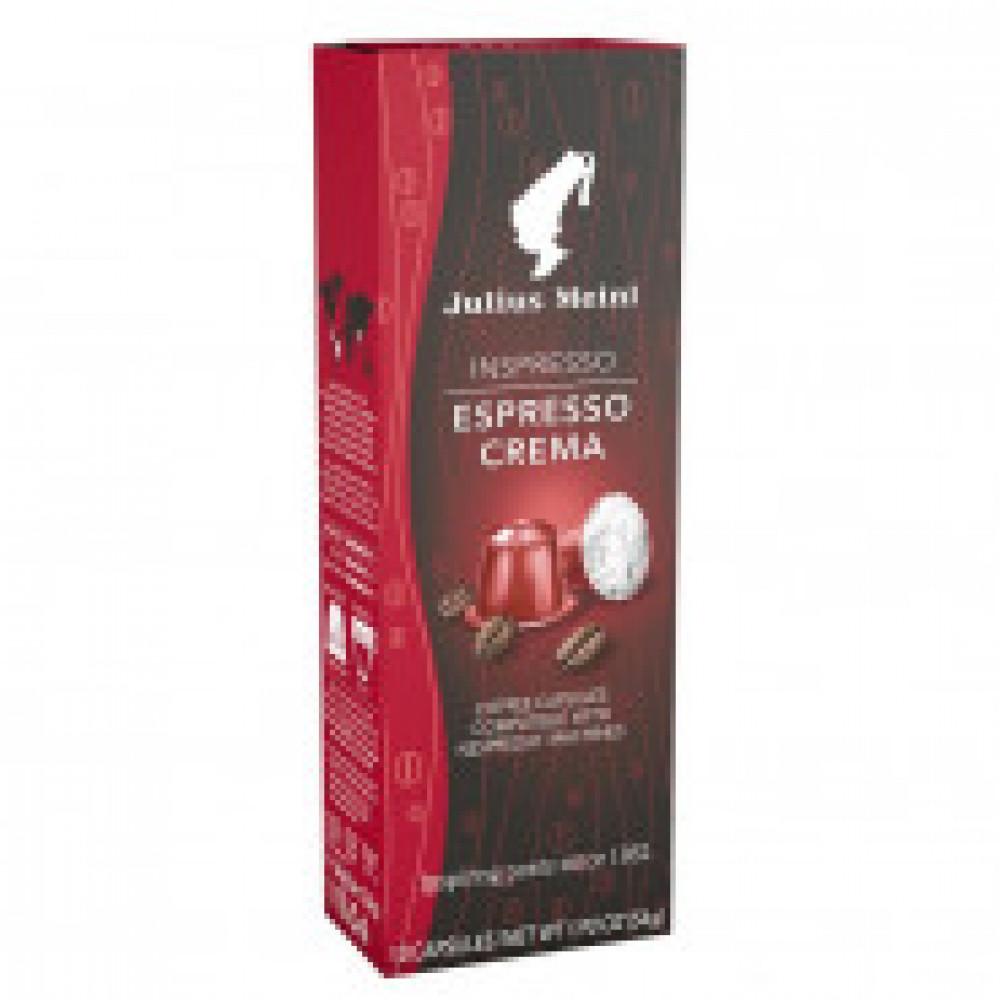 Капсулы для кофемашин Julius Meinl Espresso Crema, 10 кап.