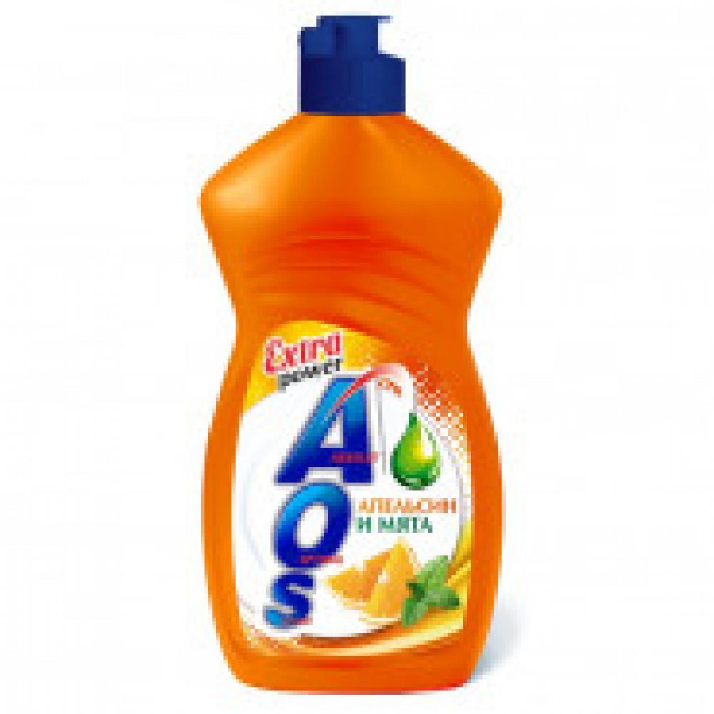 Средство для мытья посуды AOS 450г в ассортименте