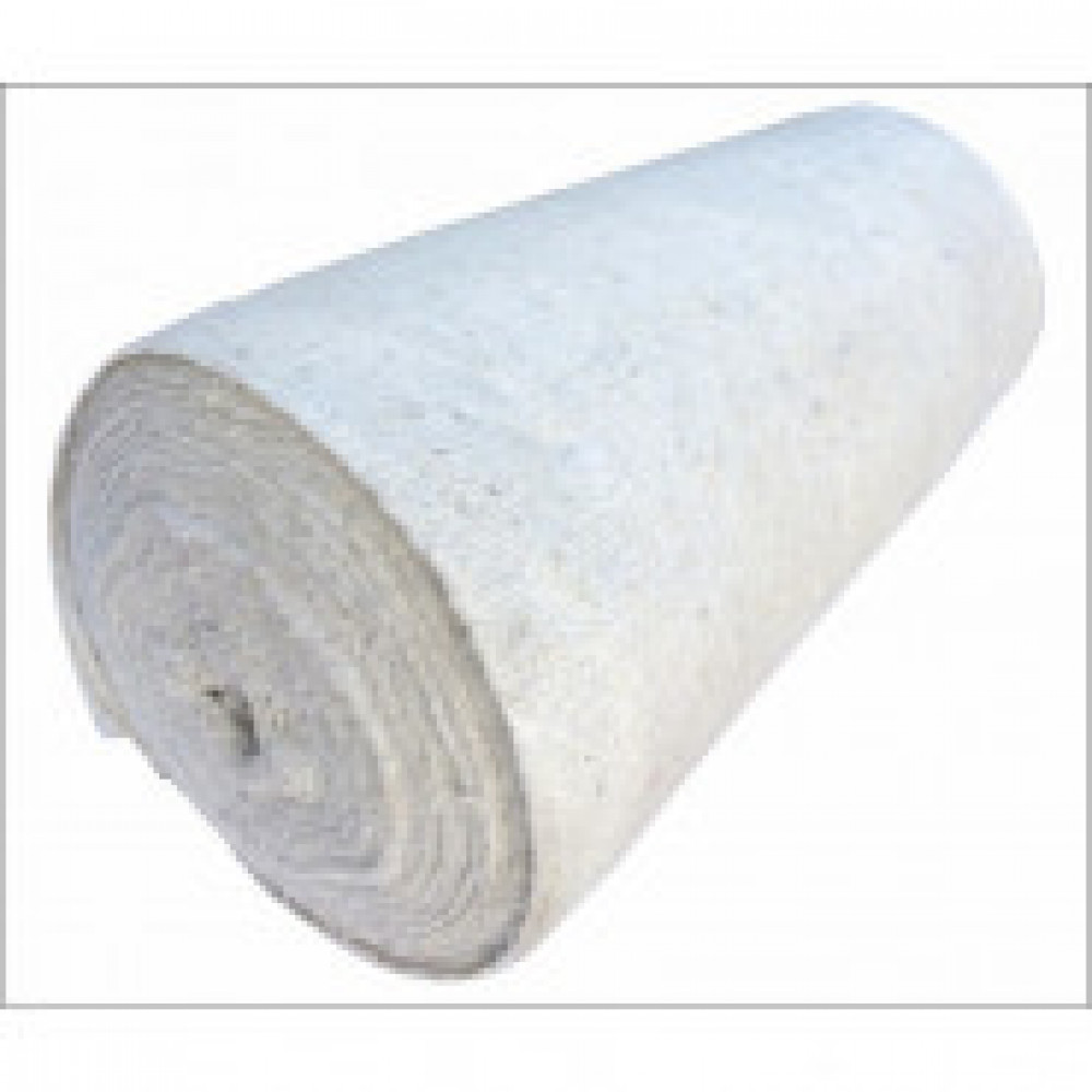 Полотно техническое холстопрошив белое 2,5мм (50мх154+/-5см,пл.180 г/кв.м)