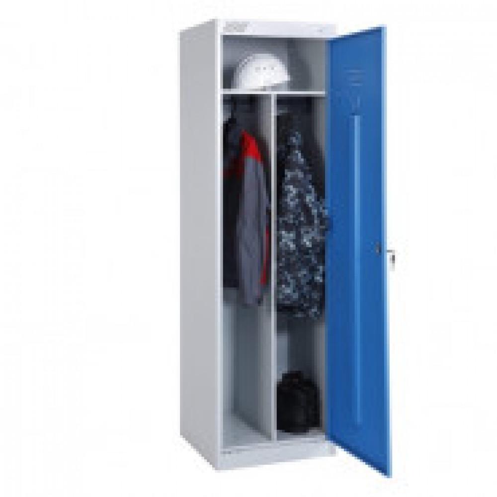 Метал.Мебель MZ_ШРЭК-21-530 шкаф д/одежды 1дв.530х500х1850
