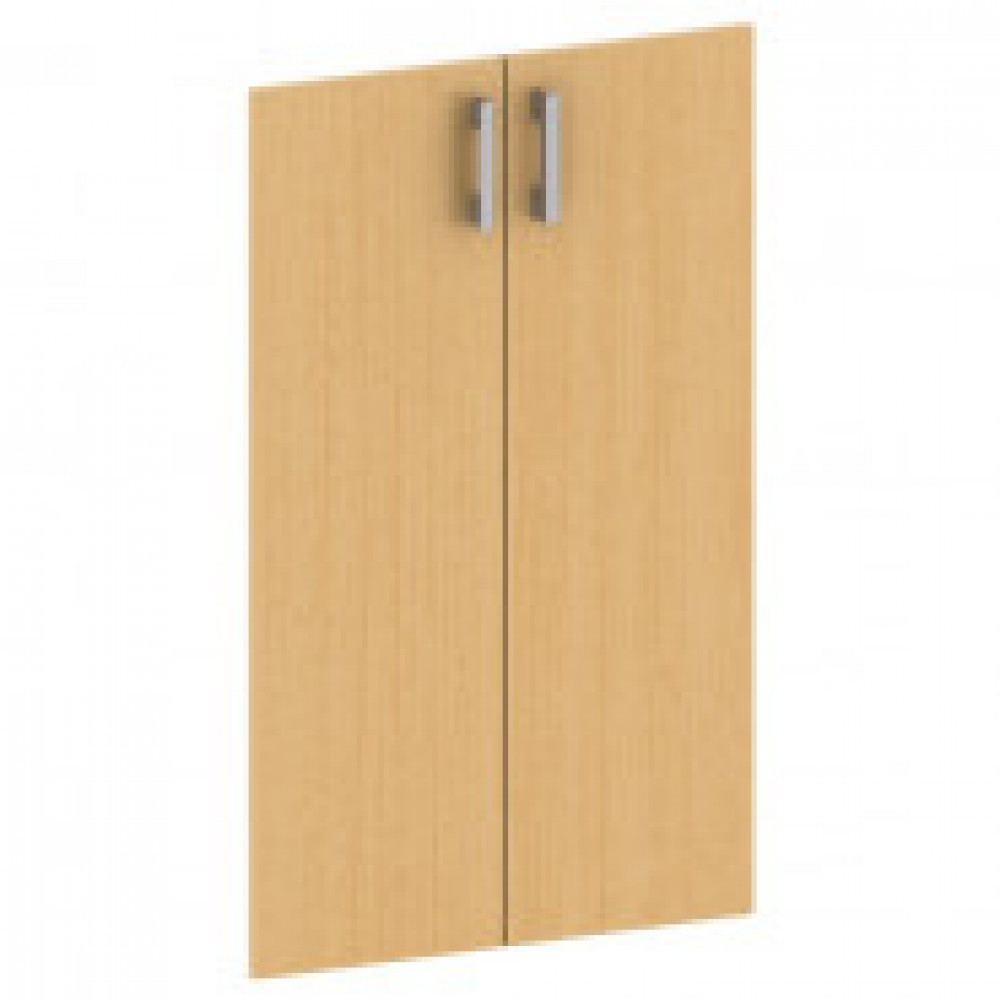 Двери низкие Арго А-602 с фурнитурой (бук, 710х18х760 мм)