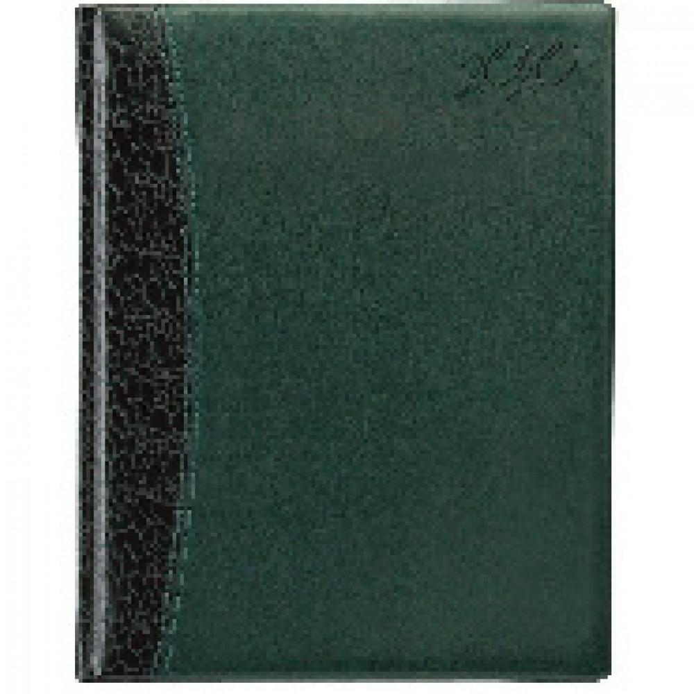 Еженедельник датированный 2020,комби,зеленый,А4,215х265мм,80л