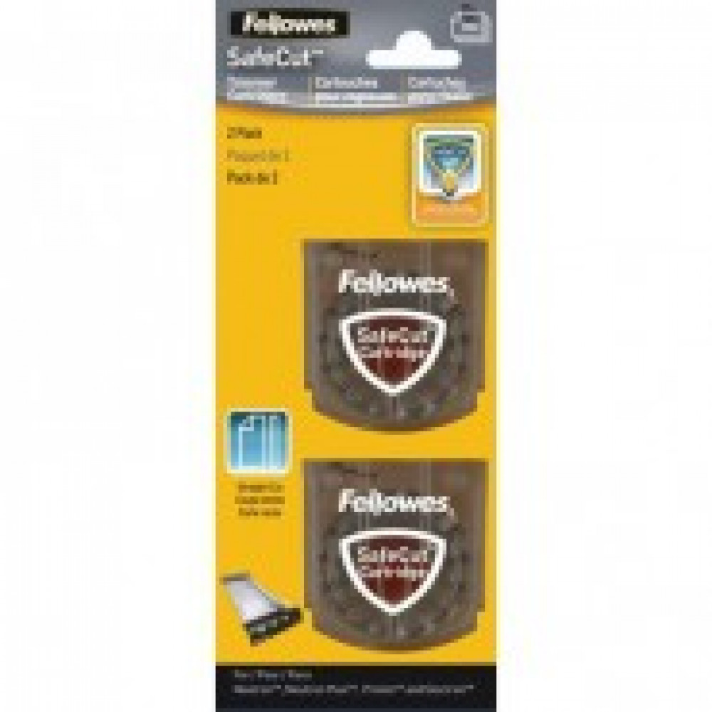 Лезвие для резаков для бумаги Fellowes SafeCut(FS-54114)прямая резка,2шт/уп