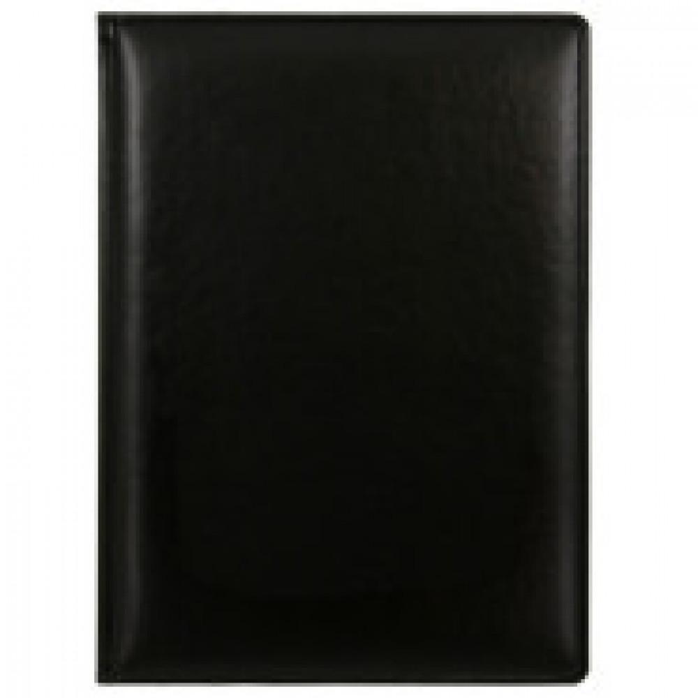 Еженедельник недатированный Attache Каньон искусственная кожа A4 72 листа черный (195x265 мм)