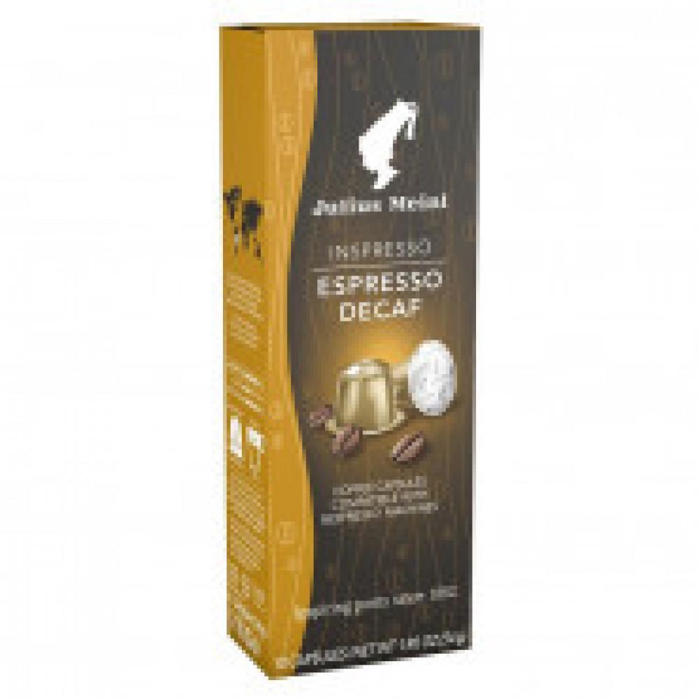 Капсулы для кофемашин Julius Meinl Espresso Decaf, 10 кап.