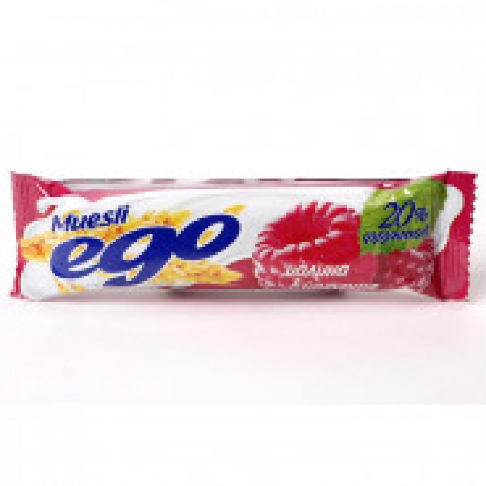 Батончик мюсли EGO малиновое желе йогурт 35штx25г
