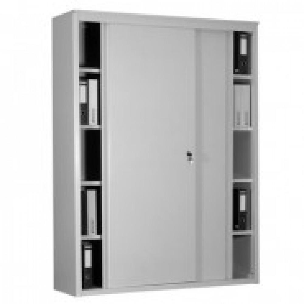Шкаф-купе металлический MZ_AL2018 д/бумаг, 1800х450х2000