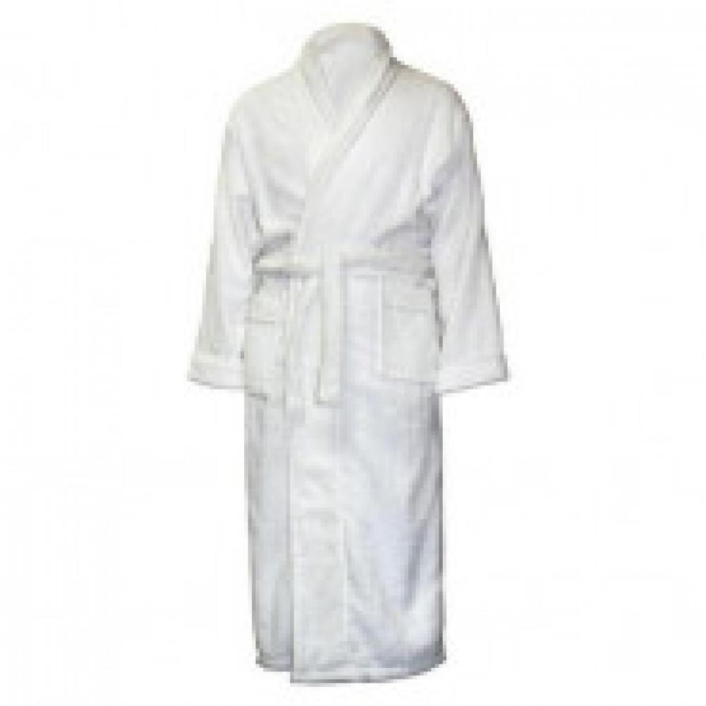 Халат махровый, размер 52-54, 380гр/м2,белый