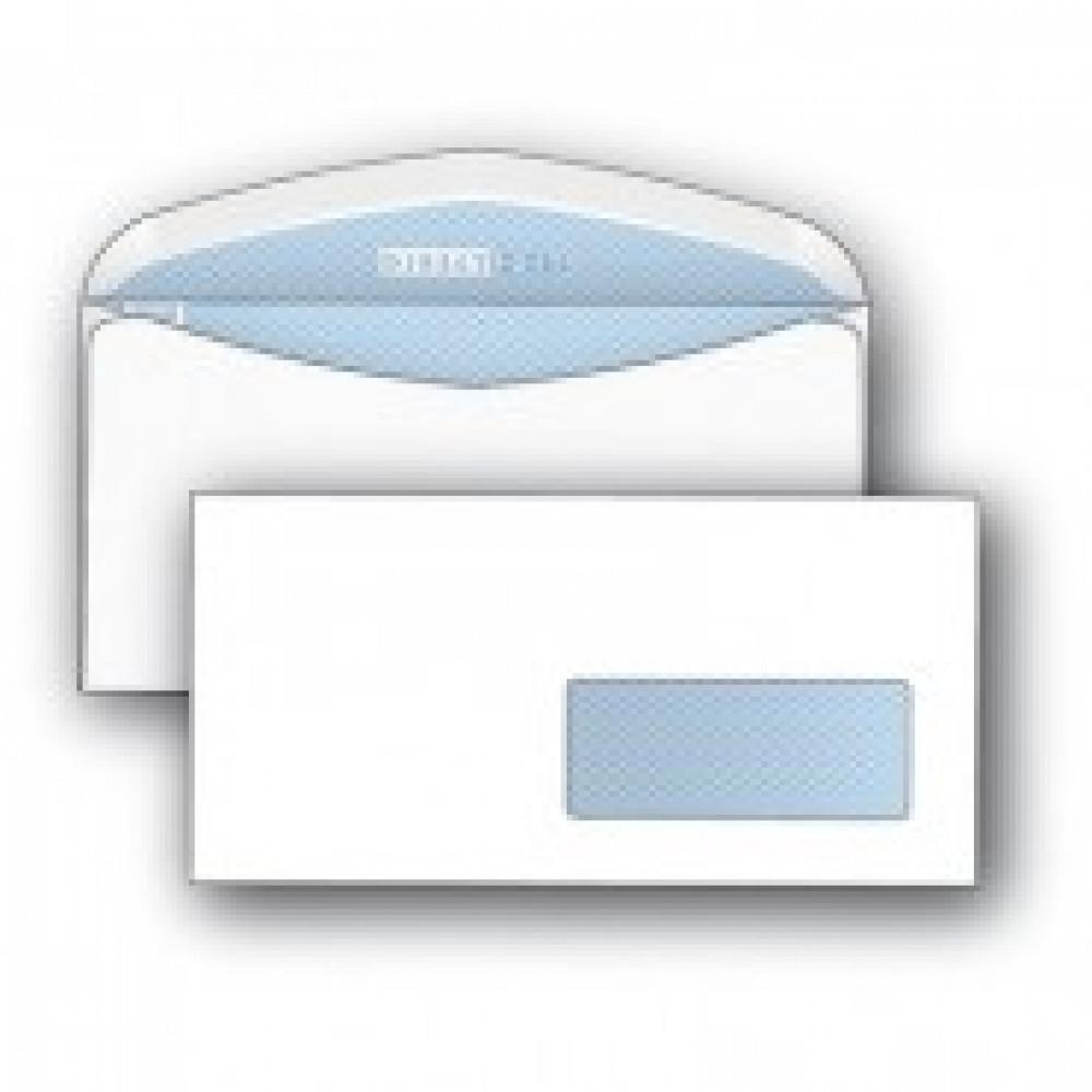 Конверт DirectPost C65 90 г/кв.м белый декстрин с внутренней запечаткой с правым окном (1000 штук в упаковке)