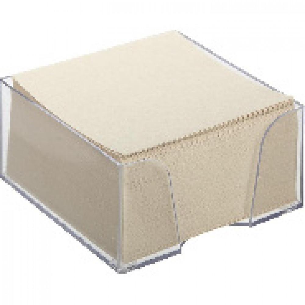 Блок для записей в подставке ATTACHE ЭКОНОМ в стакане 9х9х5 белый Т