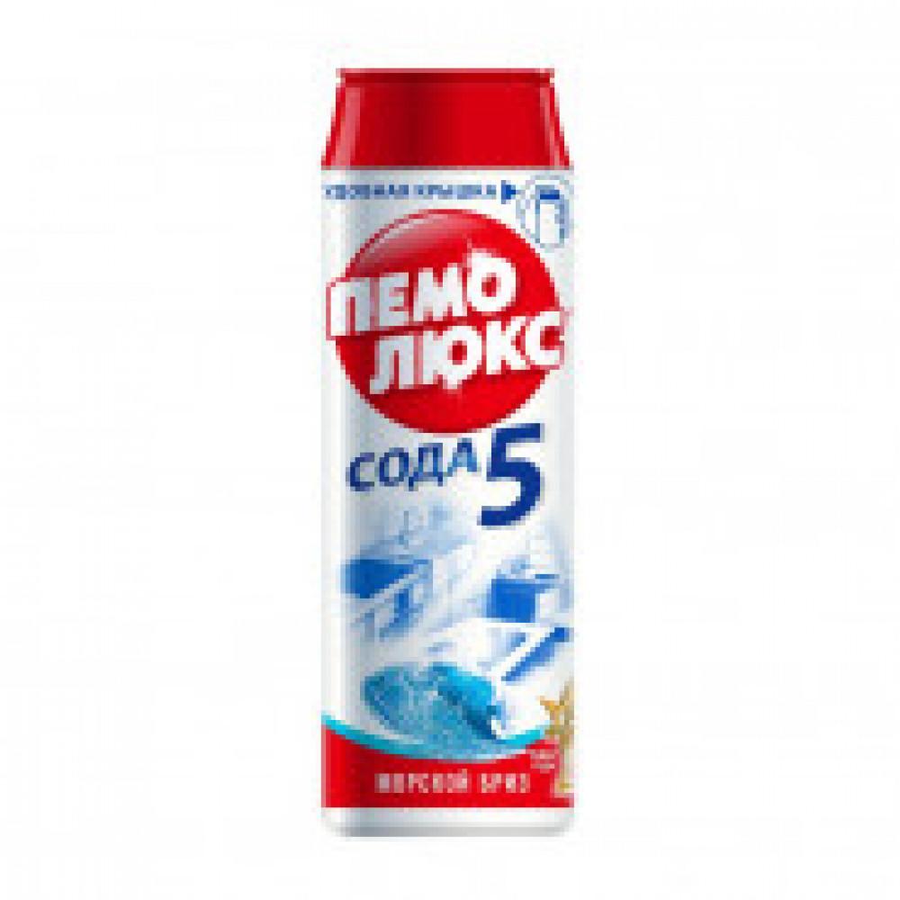 Чистящее средство для кухни ПЕМОЛЮКС порошок 480г Морской бриз