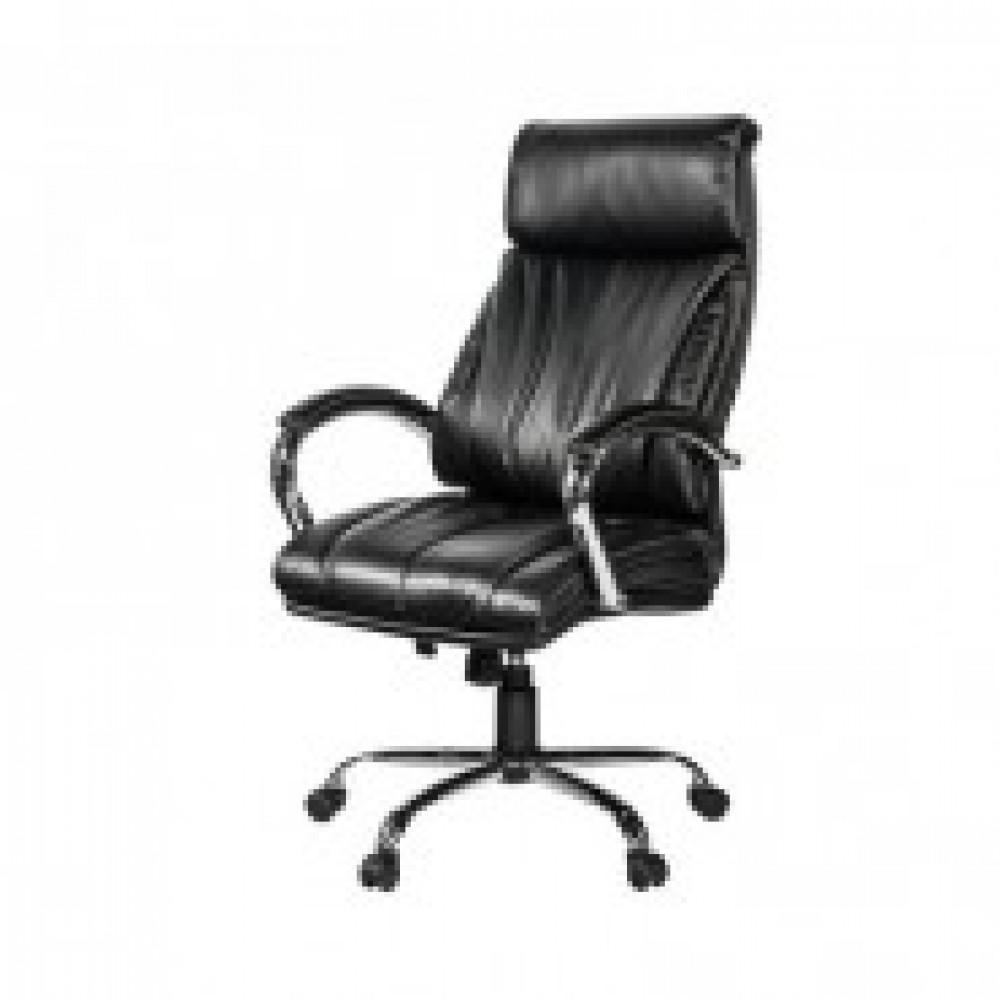 Кресло BN_Dp_Руководителя EChair-516 RT рецикл.кожа черная,