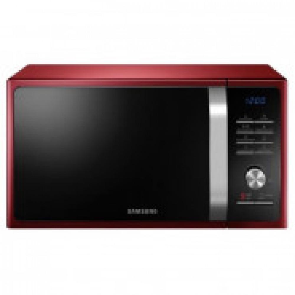 Микроволновая печь   Samsung MS23H3115QR/BW, 23 л, 800 Вт красная