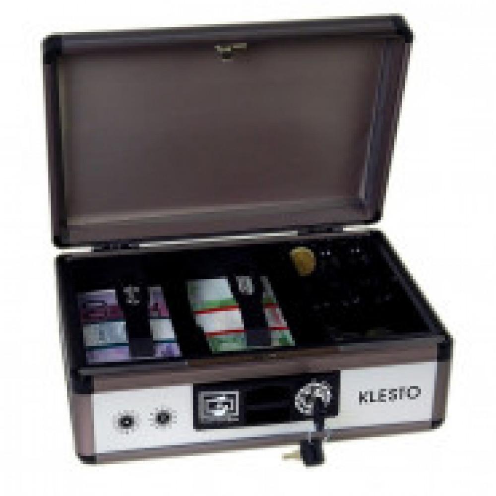 Кэшбокс CB010 ключ.,серебр.,210х138х290