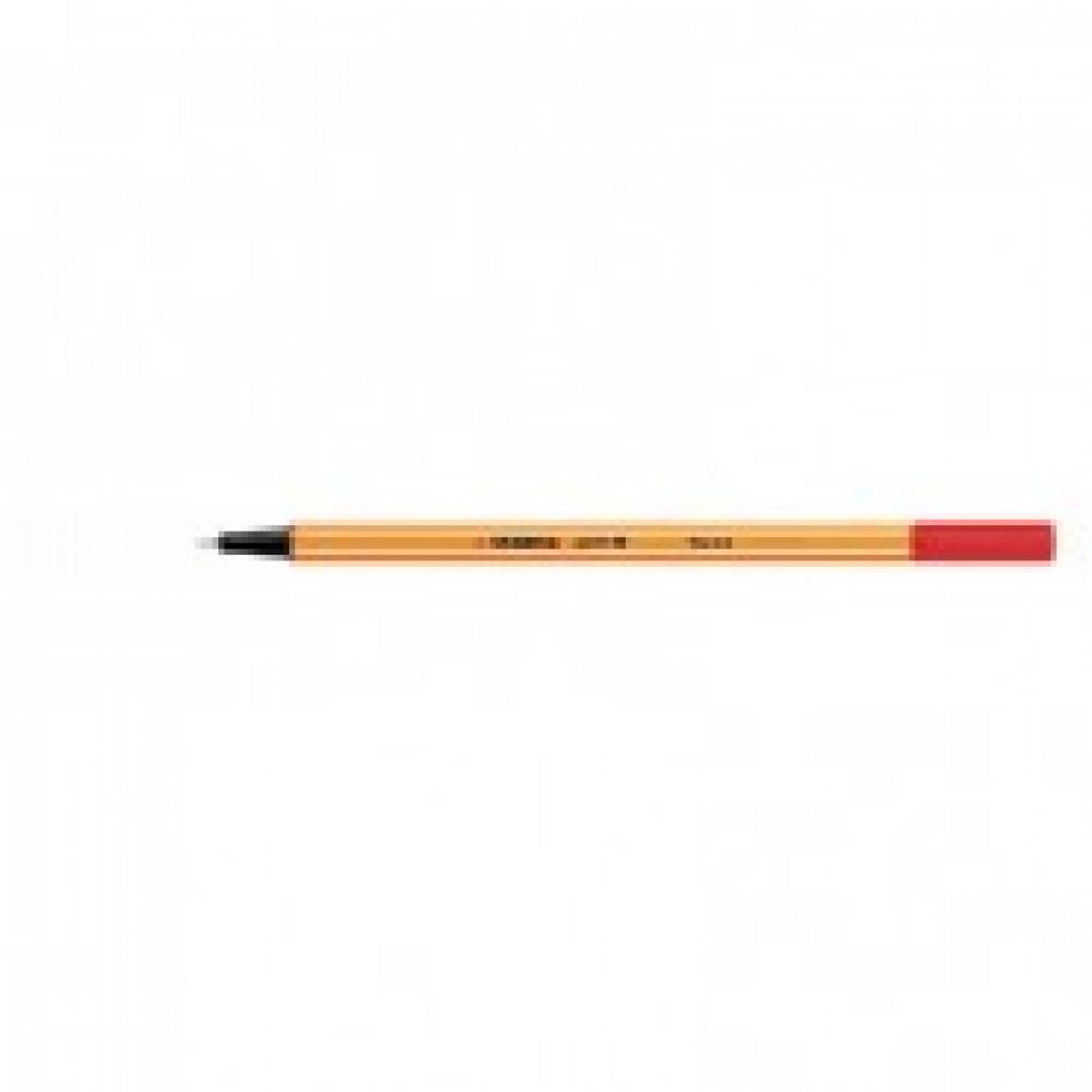 Линер Stabilo Point 88/40 красный (толщина линии 0.4 мм)