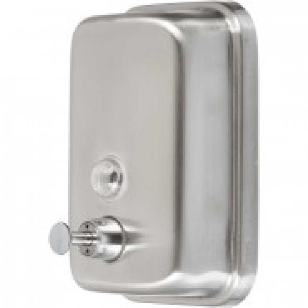 Дозатор для жидкого мыла Solinne  500мл из нерж.стали(матовый)