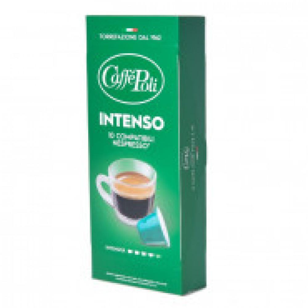 Капсулы для кофемашин Caffe Poli Intenso 10x5,2г.