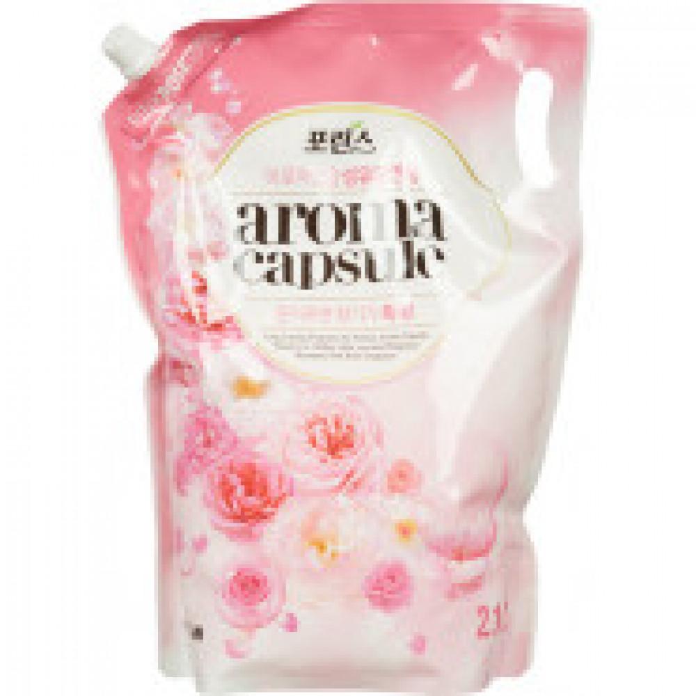 Кондиционер для белья CJ Lion Aroma capsule Розовая роза, 2.1 л (113962)