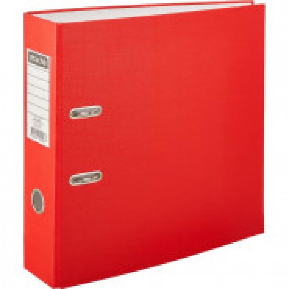 Папка регистратор с арочн.мех.Attache Экономи 80 мм,красный