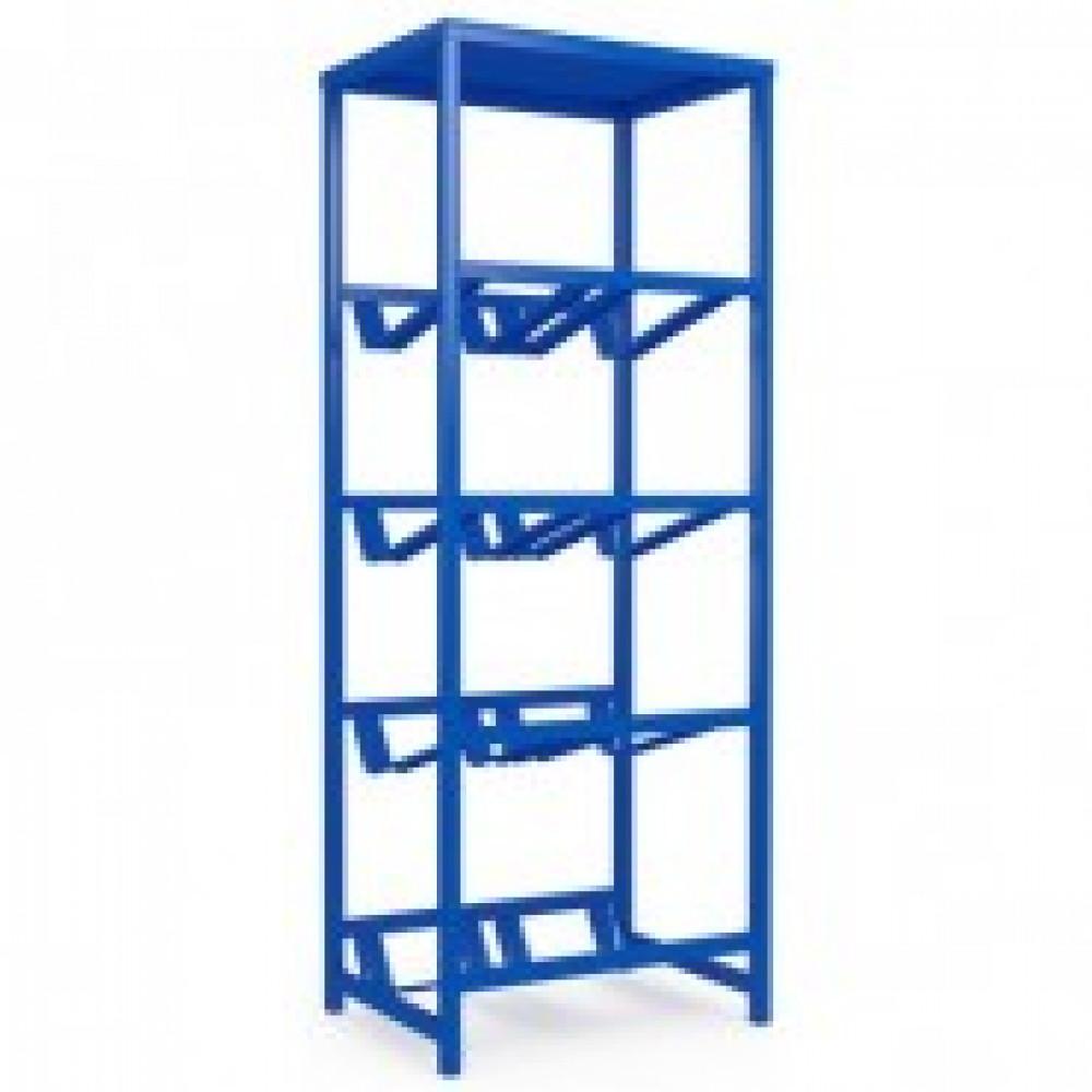 Метал.Мебель KD_Бомис-8П Стеллаж для воды бутилир. на 8 тар