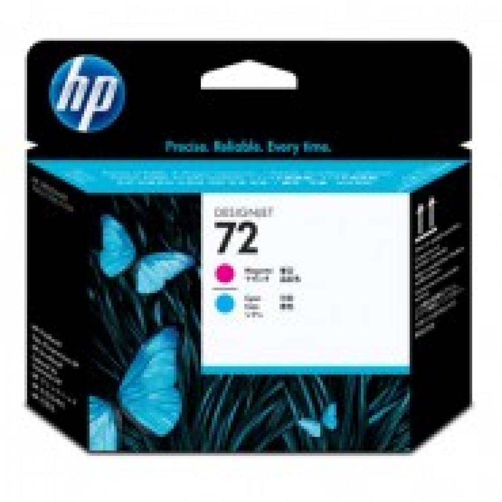 Головка печатающая HP 72 C9383A пурп./гол. для DgnJ T610/T1100