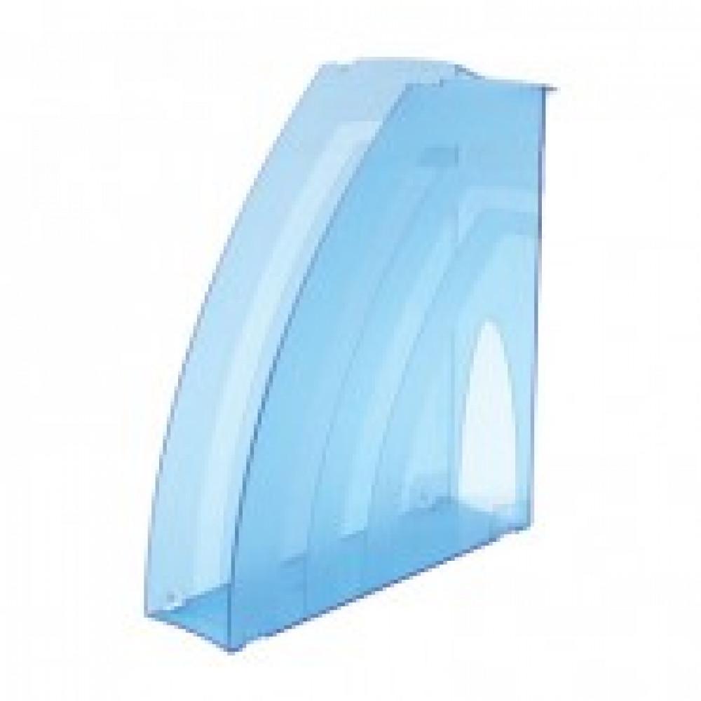 Вертикальный накопитель ATTACHE 70мм тонированный синий 2шт/упк