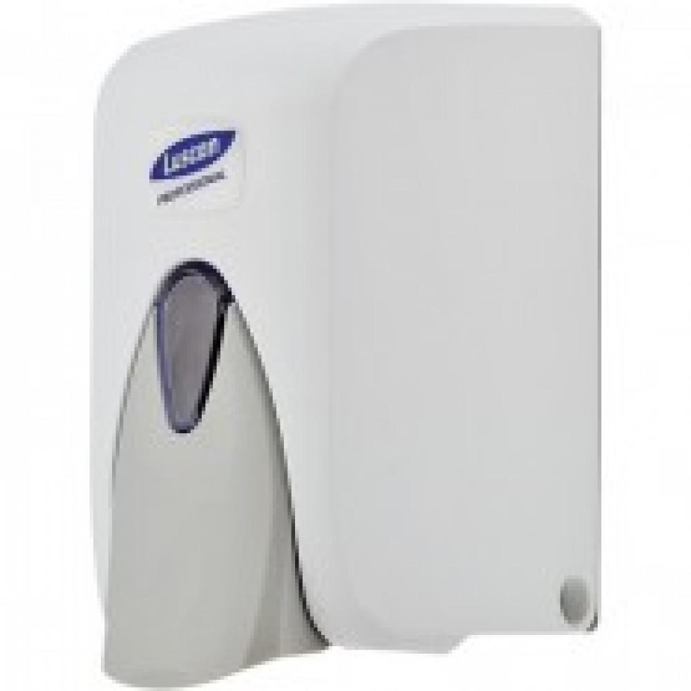 Дозатор для жидкого мыла Luscan Professional 500мл, бело-серый пластик