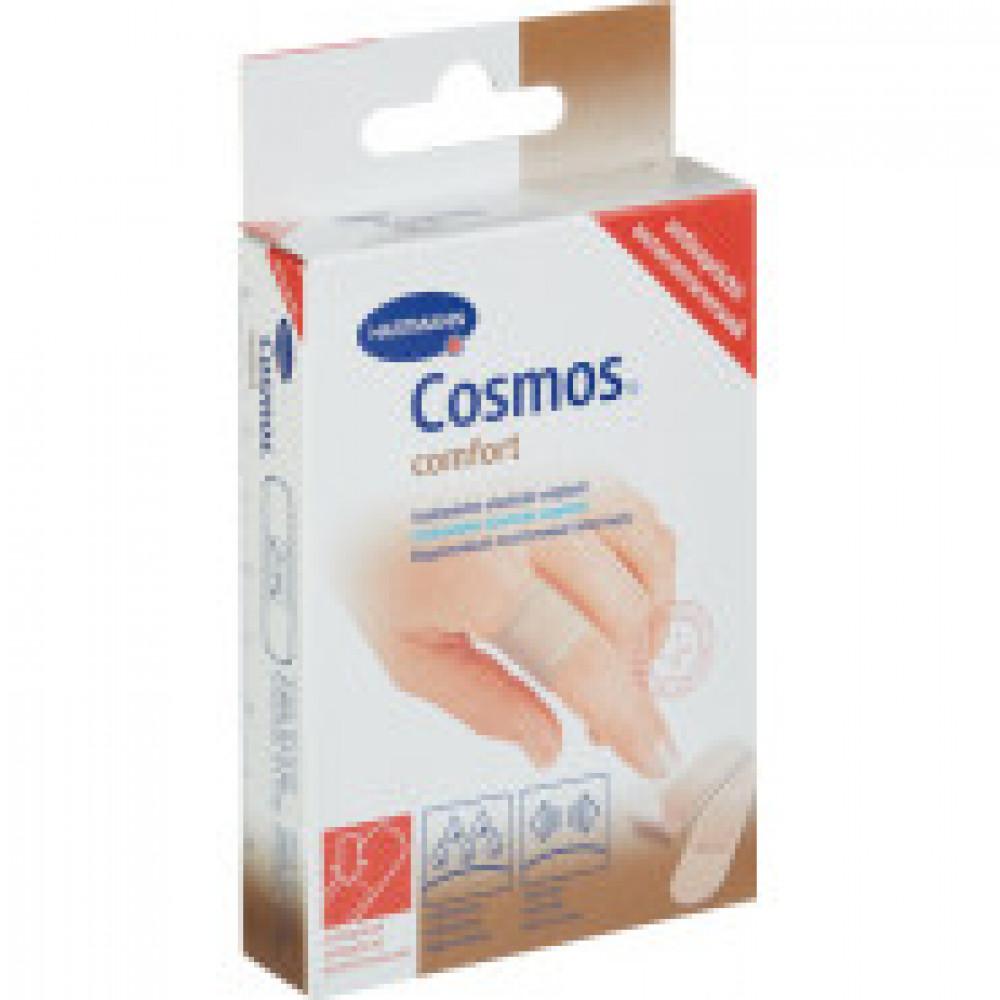 Набор пластырей антисептический 2 разм., 20 шт/уп. COSMOS comfort