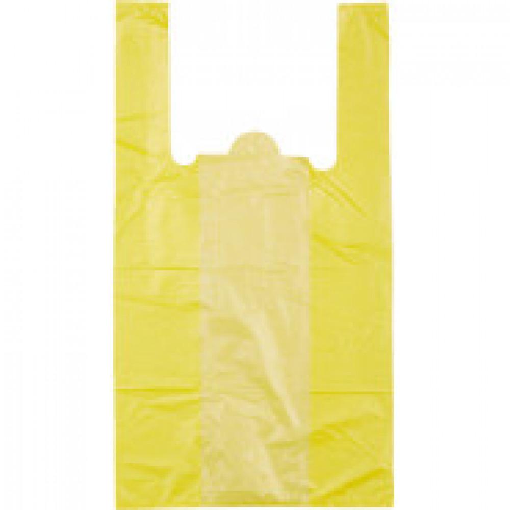 Пакет  майка  ПНД 30+18х55 15мкм 100шт./уп. цветной